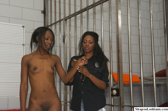 anally dildo get girl punished strap thick